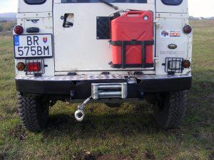 Bara spate - Land Rover Defender